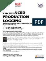 Adv Production Logging 2014