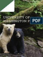 University of Washington Press Fall 2014 catalog