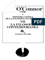 O_Connor, D. J. - Historia Critica de La Filosofia Occidental VII. La Filosofia Contemporanea