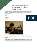 Demanda Laboral Chile