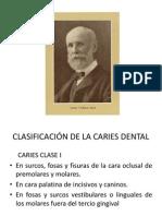 Clasificación de La Caries Dental