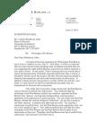 WFB reply to University of Arkansas