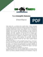 Haycox, Ernest - La Estampida Humana