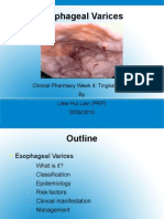 Esophageal Varices Week 4 T2T3