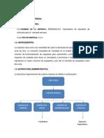 Analisis de La Empresa-importacion