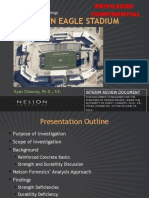 Allen ISD Eagle Stadium Structural Problems 2014 Report