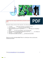 AClass Intermediate- Sports - Present Perfect vs Past Simple