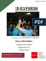 Aged Express du 24 Novembre 2009