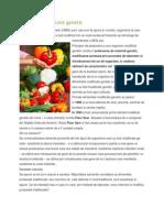 Alimente Modificate Genetic p
