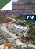 Diagnostico Para La Construccion de Gaviones en Tramos Criticos de Cauce de Rio Aucampi- Allauca – Sector Calachota