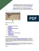 Caral Es Considerada Por La UNESCO Como Patrimonio Cultural de La Humanidad
