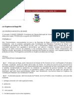 Lei Orgânica de Bagé-RS