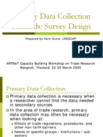 primery data collection method
