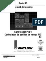 Manual Controlador Watlow Sd