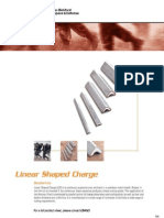 Linear Shaped Charge for Defense