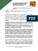 Iniciativa Prd Reforma Politica
