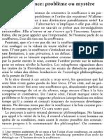 Yves Labbé , La Souffrance Problème Ou Mystère NRT 116-4 (1994) p.513-529