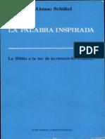 La Palabra Inspirada - Alonso Schokel