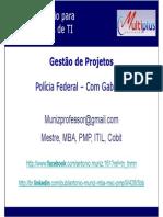Gestão de Projetos - PF - Gabarito