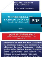 Metodologia Del Trabajo Universitaria
