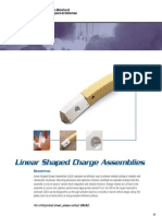 Linear Shaped Charge Assemblies for Aerospace