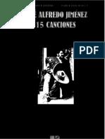 Jose Alfredo Jimenez, 15 Canciones (1).pdf