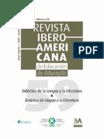 Revista Iberoamericana de Educación 59