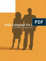 BodyLanguagefor Leaders