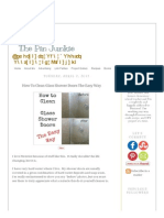 The Pin Junkie_ How to Clean Glass Shower Doors the Easy Way