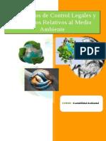 Mecanismos de Control Legales y Operativos Relativos Al Medio Ambiente