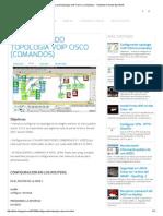 Configurando topología VoIP CISCO (comandos) ~ Totalidad en Redes By D4nnR