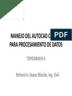 3. Topo II_Autocad Civil 3D