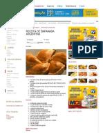 Receita de Empanada Argentina - Comida e Receitas