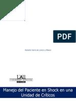 Diagnóstico y Manejo Del Shock 2011 2012
