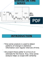 Presentation on Time Series