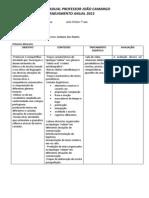 Plano de Ensino de Língua Portuguesa