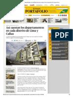 Así Cuestan Los Departamentos en Cada Distrito de Lima y Callao _ Peru _ Economía _ El Comercio Peru
