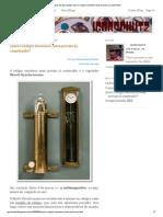 Artigos de Igorschutz_ Qual o Relógio Mecânico Mais Preciso Já Construído