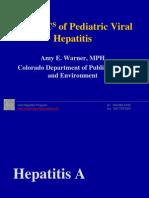 Amy Warner, MPH - The ABCs of Pediatric Viral Hepatitis
