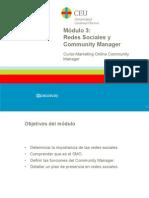 Módulo 3 Redes Sociales y CM