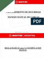 Reglas Basicas Para La Manipulacion Manual de Cargas