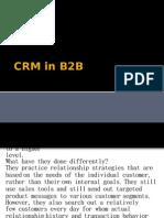 CRM in B2B