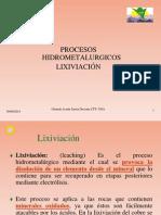 Lexiviacion Cobre