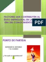 3 Factores Del Èxito Empresarial