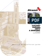 Stramit Purlins Girts and Bridging Detailing and Installation Guide (1)