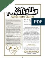 Pokethulhu RPG