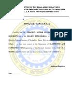 Bonafide Certificate1