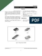OpAmp 4580 m Data Sheet