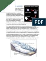 Formación de Lso Glaciares Geannella