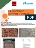 Redacción Material y metodo.ppt